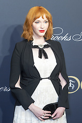 April 25, 2018 - New York, New York, United States - Christina Hendricks attends Brooks Brothers Bicentennial Celebration at Jazz At Lincoln Center (Credit Image: © Lev Radindin/Pacific Press via ZUMA Wire)