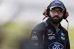 July 13, 2018 - Sparta, Kentucky, United States of America - A crew member for Ty Majeski (60) works in the pits during the Alsco 300 at Kentucky Speedway in Sparta, Kentucky. (Credit Image: © Chris Owens Asp Inc/ASP via ZUMA Wire)