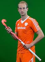 DEN BOSCH -  BILLY BAKKER . Nederlands Hockeyteam  voor nieuwe platform Hockey.nl.    FOTO KOEN SUYK