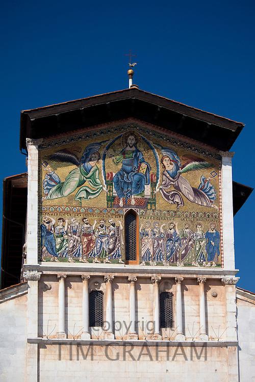 Basilica di San Frediano in Piazza San Frediano off Via Fillungo, Roman Catholic church, Lucca, Italy