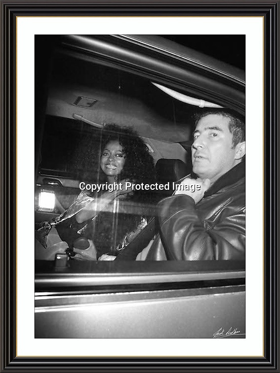 Diana Ross London West End october 99<br /> A3 Museum-quality Archival signed Framed Print