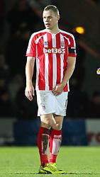 Stoke City's Ryan Shawcross l - Photo mandatory by-line: Matt McNulty/JMP - Mobile: 07966 386802 - 26/01/2015 - SPORT - Football - Rochdale - Spotland Stadium - Rochdale v Stoke City - FA Cup Fourth Round
