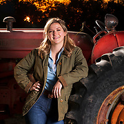 Grace Foster is an agricultural teacher at Rushville-Industry High School in Rushville, Illinois. Nathan Lambrecht/Journal Communications