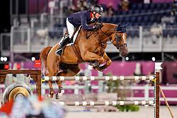 Delmotte Nicolas, FRA, Urvoso Du Roch, 337<br /> Olympic Games Tokyo 2021<br /> © Hippo Foto - Stefan Lafrentz<br /> 04/08/2021