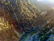 The Klamath river, with origins in the flatlands of south-east Oregon and its end in the canyons of northern California, is often called 'a river upside-down'. Local residents and native tribes alike hope that the current plan to remove four dams along the river will help restore it's salmon and steelhead runs to their historic levels.
