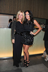"Left to right, MEG MATHEWS and TAMARA ECCLESTONE at a party to celebrate the launch of Meg Matthews' blog - ""Meg says"" at the bar at Ni Ju San, 23 St.James's Street, London on 1st December 2011."
