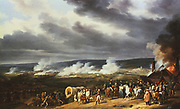 Battle of Jemappes' 6 November 1792. Engagement between France and Austria. French victory under General Dumouriez allowed France to occupy the Netherlands. Horace Vernet (1789-1863) French painter. Oil on canvas 1821.