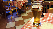 Wednesday 20th August 2014: A pression biere at the end of the day.