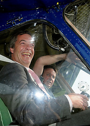 © under license to London News Pictures. 7/12/13 A pilot who was at the controls of a plane that crashed injuring UKIP leader Nigel Farage has been found dead.<br />