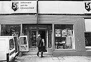 Nederland, Den Haag, 17-10-1986Winkel van Postbus 51, de instantie die overheidsinformatie verzorgt. De winkel werd gesloten in 1997.Foto: Flip Franssen/Hollandse Hoogte
