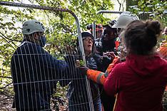 2020-10-01 Stop HS2 Jones' Hill Wood camp eviction