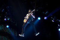 Justin Bieber in Greenville, SC during the My World Tour. (MANDATORY CREDIT:  Robert Caplin / PSG)  **EXCLUSIVE : DOUBLE SPACE RATES APPLY.  CALL 646.325.3221 PRIOR TO PUBLICATION** Tomi Martin<br /> <br /> Photo © Robert Caplin<br /> robert@robertcaplin.com