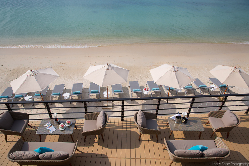 Beach at Sea and Sky beach front restaurant located on Ban Tai beach, Koh Samui, Thailand