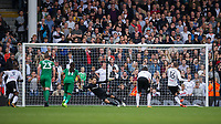 Fulham's Oliver Norwood sends Preston North End's Chris Maxwell the wrong way to bring Fulham back into the game at 2-1<br /> <br /> Photographer Ashley Western/CameraSport<br /> <br /> The EFL Sky Bet Championship - Fulham v Preston North End - Saturday 14th October 2017 - Craven Cottage - London<br /> <br /> World Copyright © 2017 CameraSport. All rights reserved. 43 Linden Ave. Countesthorpe. Leicester. England. LE8 5PG - Tel: +44 (0) 116 277 4147 - admin@camerasport.com - www.camerasport.com