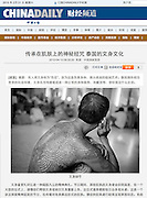 Daily China Tearsheet - Jean-Michel Clajot - Photojournalist