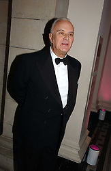 MANOLO BLAHNIK at the British Fashion Awards 2006 sponsored by Swarovski held at the V&A Museum, Cromwell Road, London SW7 on 2nd November 2006.<br /><br />NON EXCLUSIVE - WORLD RIGHTS