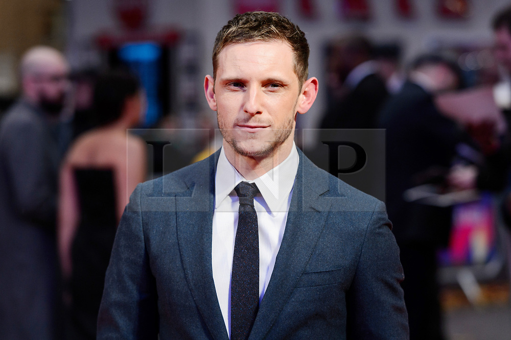 © Licensed to London News Pictures. 11/10/2017. London, UK.  JAMIE BELL attends the European film premiere of Stars Don't Die In Liverpool showing as part of the 51st BFI London Film Festival. Photo credit: Ray Tang/LNP