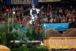 Westerich, Falk-Flip-Finn (GER) Giaccomo YSK<br /> Stuttgart - German Masters 2016<br /> © www.sportfotos-lafrentz.de