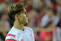 Sevilla's Denis Suarez during the match between Sevilla FC and Villarreal day 9 spanish  BBVA League 2014-2015 day 5, played at Sanchez Pizjuan stadium in Seville, Spain. (PHOTO: CARLOS BOUZA / BOUZA PRESS / ALTER PHOTOS)