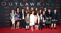 Outlaw King Premiere, Edinburgh, Friday 19th October 2018<br /> <br /> Outlaw King is a Netflix film and follows 14th century Scottish king Robert the Bruce prior to his coronation and through to his rebellion against the English, who at the time were occupying Scotland.<br /> <br /> Stars, crew and guests appear on the red carpet for the Scottish premiere.<br /> <br /> Pictured: Some of the child actors<br /> <br /> Alex Todd | Edinburgh Elite media