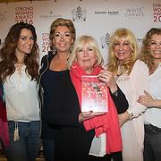 NLD/Amsterdam/20160321 - The Strong Woman Award 2016, Winnaars van alle strong woman awards, Rita Verdonk, Quinty Trustfull, Betty de Groot, Willeke Albert, Mary Borsato en Antje Monteiro