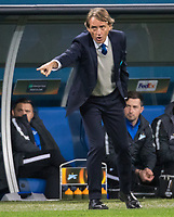 ST PETERSBURG, RUSSIA - OCTOBER 19, 2017. UEFA Europa League group stage: Zenit St Petersburg (Russia) 3 – 1 Rosenborg BK (Norway). Zenit St Petersburg head coach Roberto Mancini.