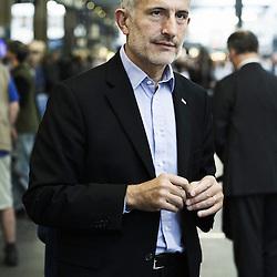 PARIS, FRANCE. JULY 27, 2011. SNCF's CEO Guillaume Pepy at the Gare Montparnasse. (photo Antoine Doyen)