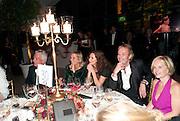 ANNA FRIEL; RHYS IFANS; MARIELA FROSTRUP, Evgeny Lebedev and Graydon Carter hosted the Raisa Gorbachev charity Foundation Gala, Stud House, Hampton Court, London. 22 September 2011. <br /> <br />  , -DO NOT ARCHIVE-© Copyright Photograph by Dafydd Jones. 248 Clapham Rd. London SW9 0PZ. Tel 0207 820 0771. www.dafjones.com.