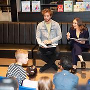 NLD/Amstelveen/20181109- Boekpresentatie Jim Bakkum 'Dadoe en zijn vriendjes' , Jim Bakkum en Kirsten Michel