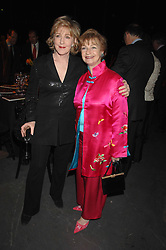 PATRICIA HODGE and RUTH MORLEY widow of Sheridan Morley at Fast Forward - a fund-raising party for the National Theatre held at The Roundhouse, London NW1 on 1st March 2007.<br /><br />NON EXCLUSIVE - WORLD RIGHTS