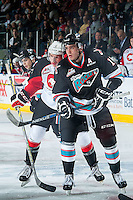 KELOWNA, CANADA - OCTOBER 23: Rodney Southam #17 of Kelowna Rockets skates against the Prince George Cougars on October 23, 2015 at Prospera Place in Kelowna, British Columbia, Canada.  (Photo by Marissa Baecker/Shoot the Breeze)  *** Local Caption *** Rodney Southam;