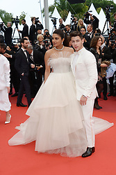 May 18, 2019 - Cannes, France - CANNES, FRANCE - MAY 18: Actress Priyanka Chopra and her husband Nick Jonas attend the screening of ''Les Plus Belles Annees D'Une Vie'' during the 72nd annual Cannes Film Festival on May 18, 2019 in Cannes, France. (Credit Image: © Frederick InjimbertZUMA Wire)