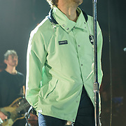 Liam Gallagher performs at the Lincoln Theater in Washington, D.C. during the last date of his Spring 2018 tour to promote his debut album, As You Were. (Photo by Kyle Gustafson / Do not reuse without permission)
