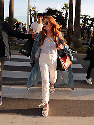 EXCLUSIVE: Lindsay Lohan seens at the Promenade of Cannes. 22 May 2017 Pictured: Lindsay Lohan. Photo credit: Savio / MEGA TheMegaAgency.com +1 888 505 6342
