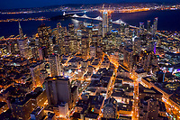 Downtown San Francisco @ Night