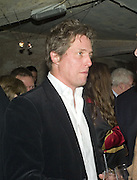 HUGH GRANT, Discover Wilton's Music Hall, Fundraising event. Graces alley, Ensign St. London. 5 December 2007. -DO NOT ARCHIVE-© Copyright Photograph by Dafydd Jones. 248 Clapham Rd. London SW9 0PZ. Tel 0207 820 0771. www.dafjones.com.