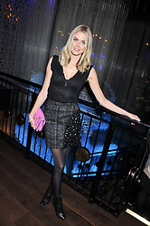 DONNA AIR at the ZEO 'Just January' Party held at the Buddha Bar, 145 Knightsbridge, London SW1 on 31st January 2013.