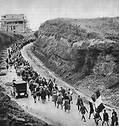 The March on Rome, a coup d'état by which Mussolini's National Fascist Party (Partito Nazionale Fascista, or PNF) came to power in the Kingdom of Italy. It took place from October 27 to October 29, 1922.