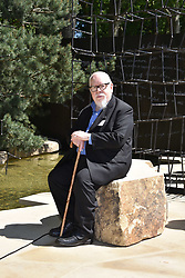 Sir Peter Blake at the RHS Chelsea Flower Show Press Day, Royal Hospital Chelsea, London England. 22 May 2017.<br /> Photo by Dominic O'Neill/SilverHub 0203 174 1069 sales@silverhubmedia.com