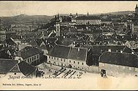 Zagreb : Croatie. <br /> <br /> ImpresumZagreb : Naklada J. Hühn, [1905].<br /> Materijalni opis1 razglednica : tisak ; 9 x 13,9 cm.<br /> NakladnikJulije Hühn<br /> Mjesto izdavanjaZagreb<br /> Vrstarazglednice<br /> ZbirkaGrafička zbirka NSK • Zbirka razglednica<br /> ProjektPozdrav iz Hrvatske<br /> PredmetPanoramska fotografija<br /> PredmetZagreb<br /> Jezikhrvatski<br /> SignaturaRZG-PAN-15<br /> Obuhvat(vremenski)20. stoljeće<br /> NapomenaRazglednica je putovala.<br /> PravaJavno dobro<br /> Identifikatori000925466<br /> NBN.HRNBN: urn:nbn:hr:238:220331 <br /> <br /> Izvor: Digitalne zbirke Nacionalne i sveučilišne knjižnice u Zagrebu