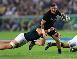 TJ Perenara during the Castle Lager Rugby Championship test match between South Africa and New Zealand held at Kings Park stadium in Durban on the 8th October 2016<br /> <br /> Photo by:  RealTime Images