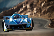 June 26-30 - Pikes Peak Colorado.  Monster Tajima works through sector 2 on the mountain during practice for the 91st running of the Pikes Peak Hill Climb.