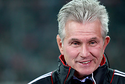 02.11.2011, Allianz Arena, Muenchen, GER, UEFA CL, FC Bayern Muenchen vs. SSC Neapel, im Bild  Jupp Heynckes (Trainer Bayern) // during the CL match  FC Bayern Muenchen (GER)  vs.  SSC Neapel  (ITA) Gruppe A, on 2011/11/02, Allianz Arena, Munich, Germany, EXPA Pictures © 2011, PhotoCredit: EXPA/ nph/  Straubmeier       ****** out of GER / CRO  / BEL ******