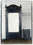 early 1900s product photo of closet with mirror