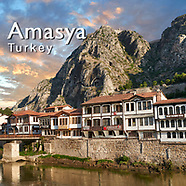 Pictures & Images of Amasya Ottoman Villas & Royal Pontic Tombs, Turkey -