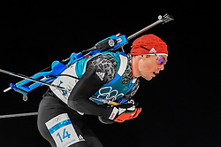 February 18, 2018 - Pyeongchang, Gangwon, South Korea - Simon Schempp of  Germany  competing in  15 km mass start biathlon at Alpensia Biathlon Centre, Pyeongchang,  South Korea on February 18, 2018. (Credit Image: © Ulrik Pedersen/NurPhoto via ZUMA Press)