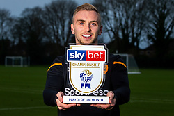 Jarrod Bowen of Hull City wins the Sky Bet Championship Player of the Month award - Mandatory by-line: Robbie Stephenson/JMP - 12/12/2019 - FOOTBALL - Hull City AFC Training Ground - Hull, England - Sky Bet Player of the Month Award