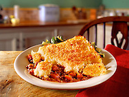 Traditional poatao & minced beef cottage Pie