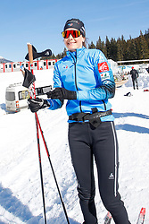 Simon Julia of France during the IBU World Championships Biathlon 4x6km Relay Women competition on February 20, 2021 in Pokljuka, Slovenia. Photo by Vid Ponikvar / Sportida