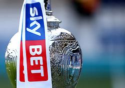 The Sky Bet Championship Trophy at Loftus Road, home of Queens Park Rangers - Mandatory by-line: Robbie Stephenson/JMP - 07/04/2017 - FOOTBALL - Loftus Road - Queens Park Rangers, England - Queens Park Rangers v Brighton and Hove Albion - Sky Bet Championship